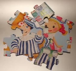 Andy Pandy puzzle játék