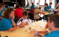 Társasjátékklub a KSH Könyvtárban 67. -  Felkészülés a 2. Családi Játék Nap versenyeire
