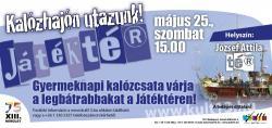 Játéktér - Kalózhajón utazunk! plakát